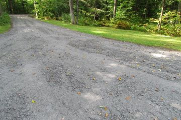 Installed Driveway Rubble Mix