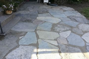 Photo 26 Rustic Fieldstone Walkway