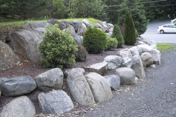 Photo 39 Natural Terraced Boulder Walls
