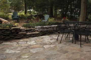 Rustic Limestone Patio